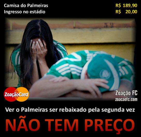 Palmeiras-rebaixado