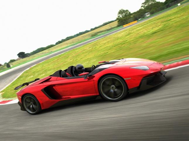 2012-Lamborghini-Aventador-J-Front-Side