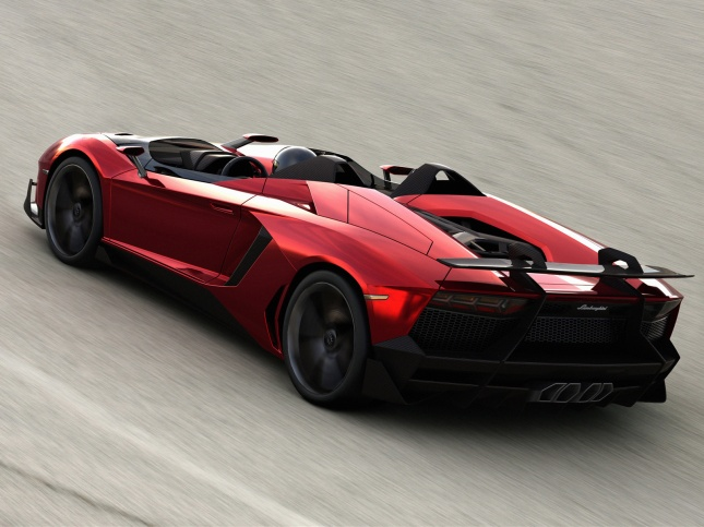 2012-Lamborghini-Aventador-J-Rear-Angle