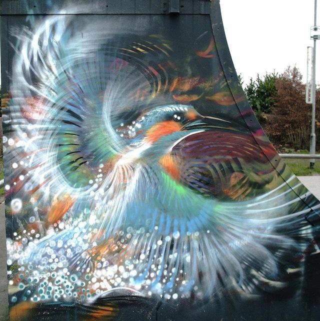 Street-Art-Bird