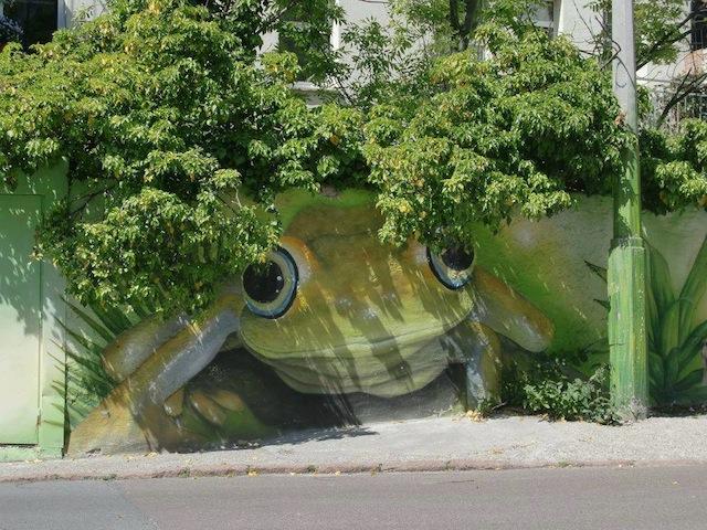 Street-Art-frog