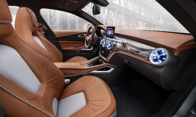 Mercedes-Benz-GLA-SUV-concept-Shanghai-motor-show-front-interior