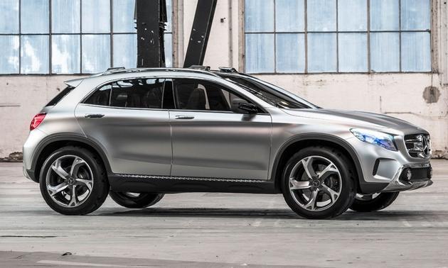 Mercedes-Benz-GLA-SUV-concept-Shanghai-motor-show-profile