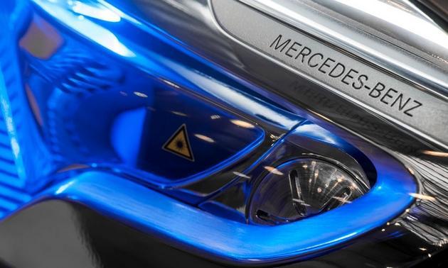 Mercedes-Benz-GLA-SUV-concept-Shanghai-motor-show-projector-headlight-detail