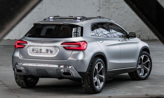 Mercedes-Benz-GLA-SUV-concept-Shanghai-motor-show-rear-3-4