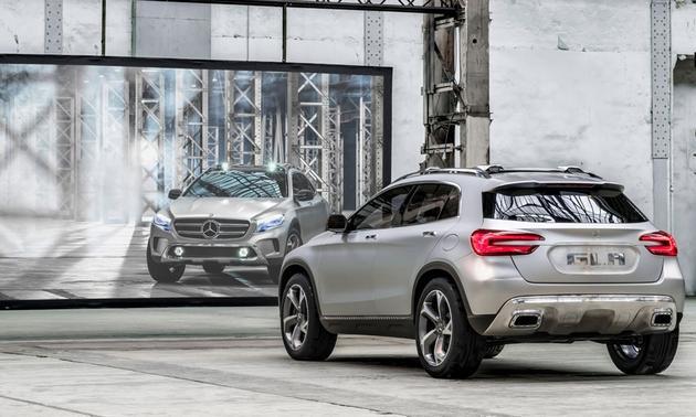 Mercedes-Benz-GLA-SUV-concept-Shanghai-motor-show